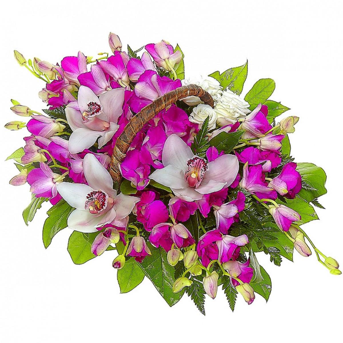 Орхидею в букетах киев купить, доставка дом