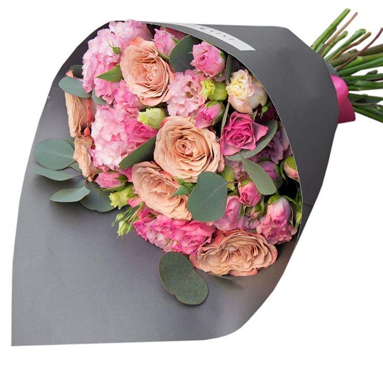 Модные букеты из роз 2018, букет
