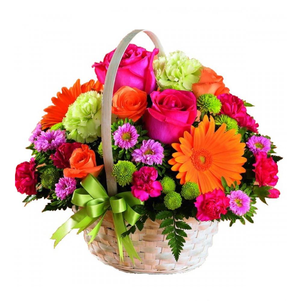 Картинки для, картинки цветы в корзинках